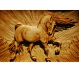 """Wood Carving """"HORSE"""""""